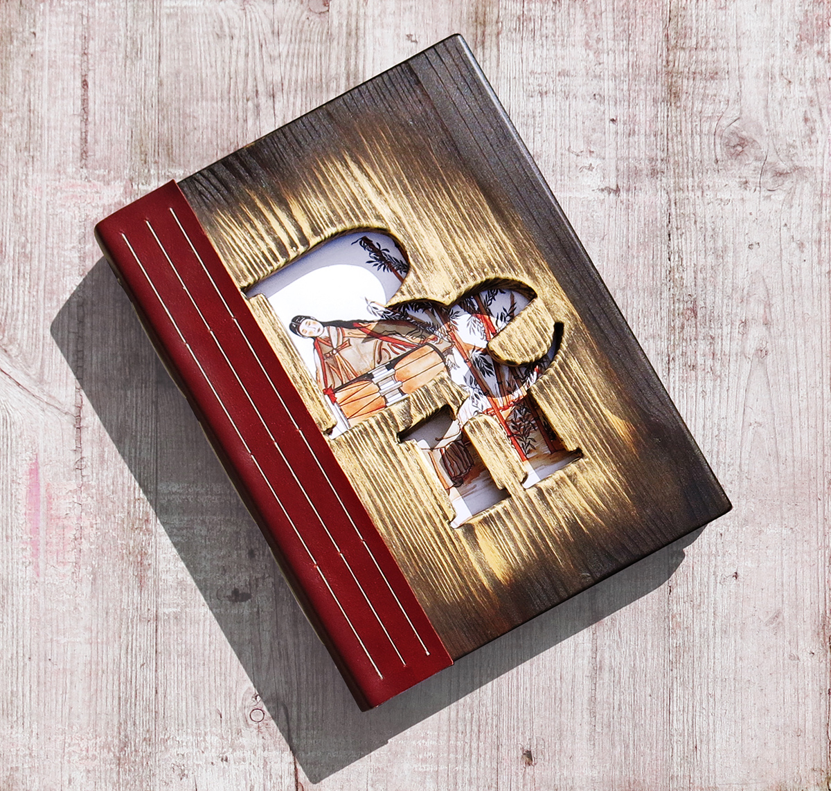 Bookbinding – Wood – Ben